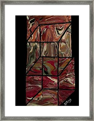 Outside The Box II Framed Print
