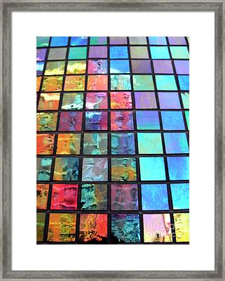 Outside The Box Framed Print by Tony Cordoza