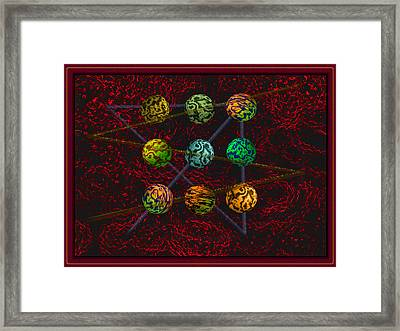 Outside The Box Framed Print