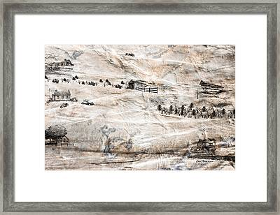 Outside The City Framed Print by EricaMaxine  Price