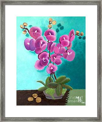 Outstanding Orchids Framed Print