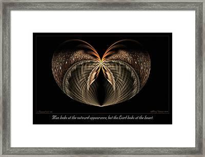 Outward Appearance Framed Print
