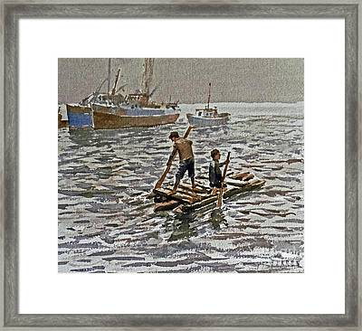 Outward Bound Framed Print