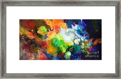 Outward Bound Framed Print by Sally Trace