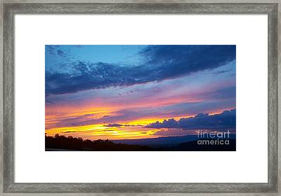Outwest Framed Print by Polly Anna
