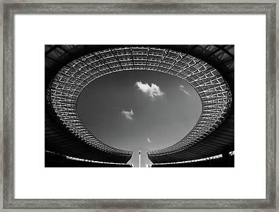 Oval Framed Print
