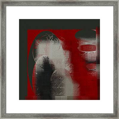 Ovalio - J097121706 Framed Print by Variance Collections