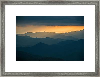 Over And Over Framed Print