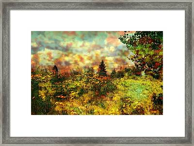 Over In The Meadow 1 Framed Print by Shirley Sirois