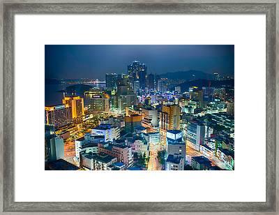 Over Looking Haeundae Framed Print by Keith Homan