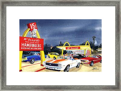 Over One Million Sold Framed Print by Larry Johnson
