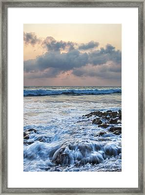Over Rocks Framed Print by Jon Glaser