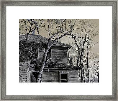 Over Taken Framed Print