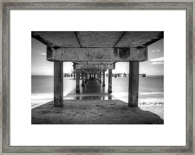 Over The Bay Framed Print by Nicholas Evans