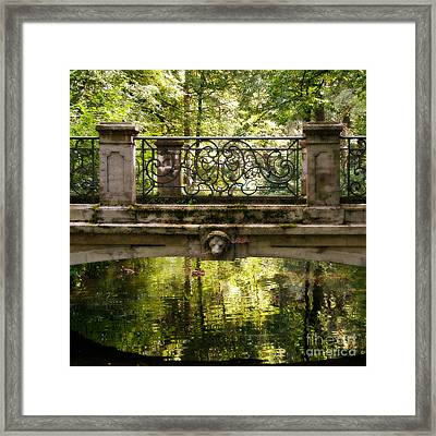 Over The Bridge Framed Print by Ivy Ho