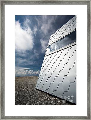 Over The Clouds Framed Print by Maurizio Bacciarini
