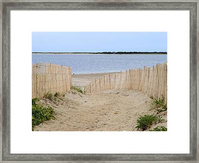 Over The Dunes Framed Print by James McAdams