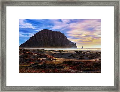 Over The Edge Framed Print