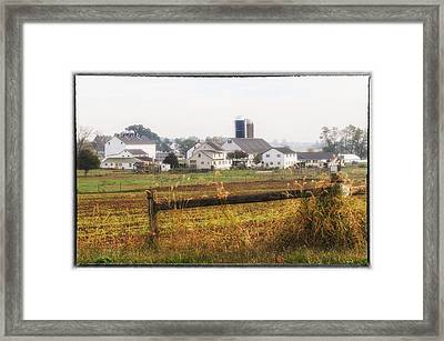 Over The Fence Framed Print