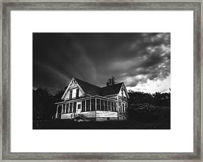 Over The Hills Framed Print by Kenny  Noddin