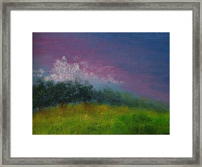 Over The Horizon Framed Print by Margie Ridenour
