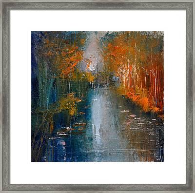 Over The Lake IIi Framed Print