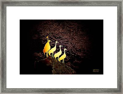Over The Ocean Framed Print
