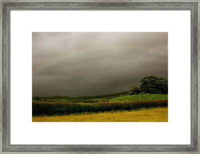 Over The Rainbow Framed Print by Theresa Selley