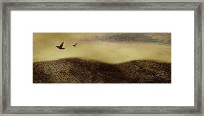 Over The Ridge Framed Print