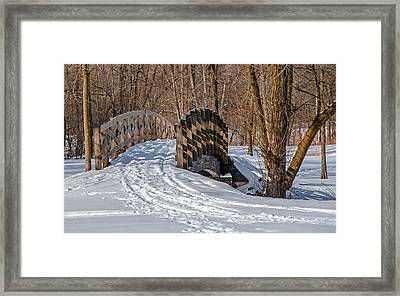 Over The River And Through The Woods Framed Print