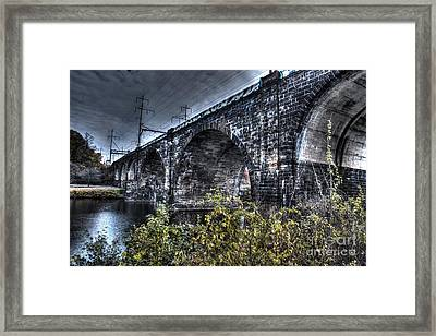 Over The River Framed Print by Mark Ayzenberg