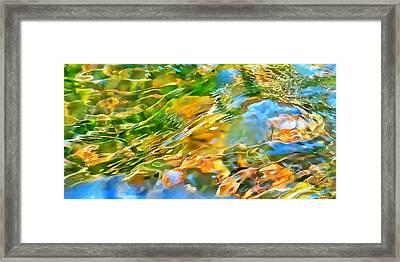 Over The Rocks Framed Print by Terril Heilman