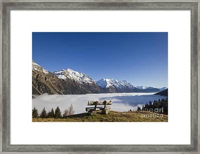 Over The Sea Fog Framed Print by Maurizio Bacciarini
