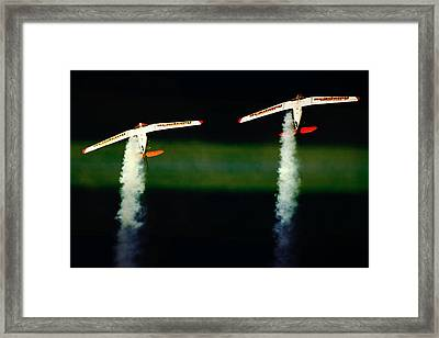 Over The Top Framed Print by Paul Job