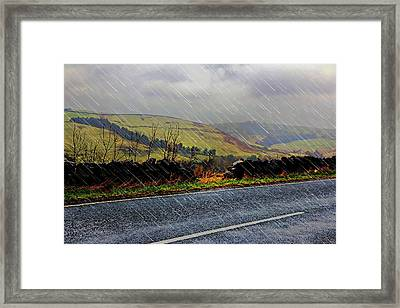 Over The Tops Framed Print
