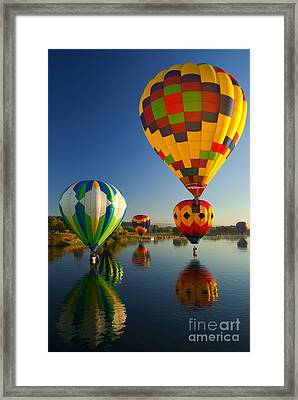 Over The Water Framed Print by Mike  Dawson