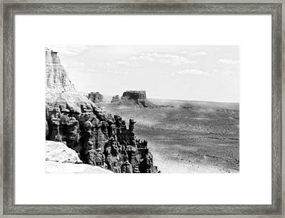 Over There Framed Print