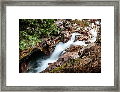 Over Time Framed Print by Aaron Aldrich