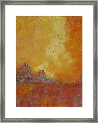 Over Time Framed Print by Barrett Edwards