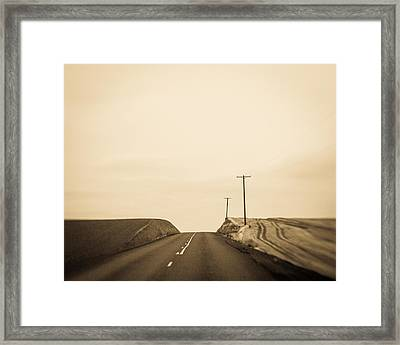 Over Yonder Framed Print