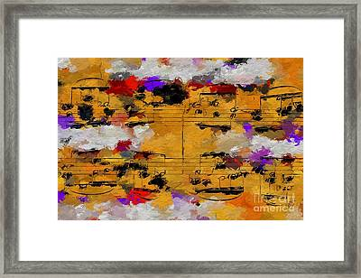 Framed Print featuring the digital art Overcast Opus 1 by Lon Chaffin
