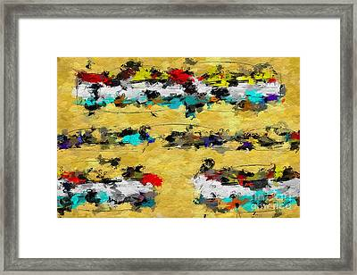 Framed Print featuring the digital art Overcast Opus 2 by Lon Chaffin