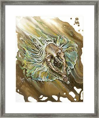 Overcome Framed Print