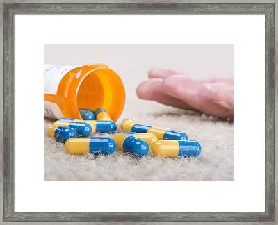 Overdose Framed Print