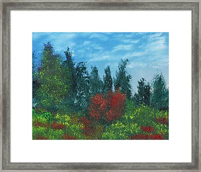 Overgrown Framed Print by Jennifer Muller