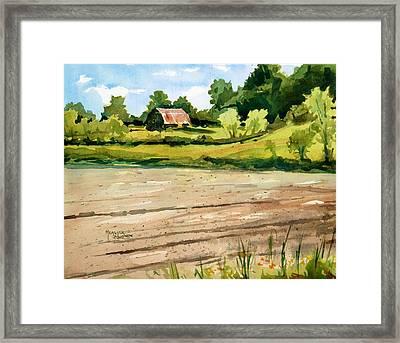 Overgrown Framed Print by Spencer Meagher