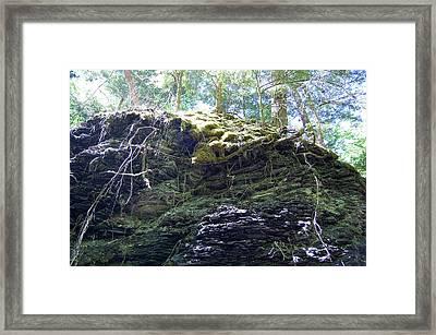 Overhang II Framed Print