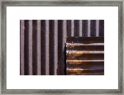 Overlap Framed Print by Fran Riley