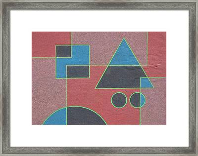 Overlay. 2003 Framed Print by Peter-hugo Mcclure
