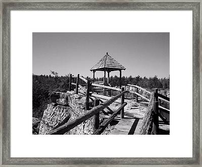 Overlook In The Shawangunks Framed Print